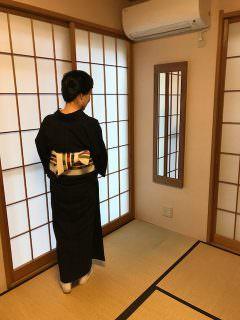 日本胡桃の美しい姿見。