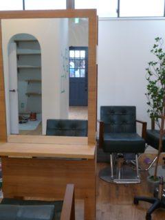 店舗収納オーダー家具<東京都葛飾区美容室>