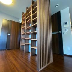 2種類の「胡桃」で作ったオーダー家具