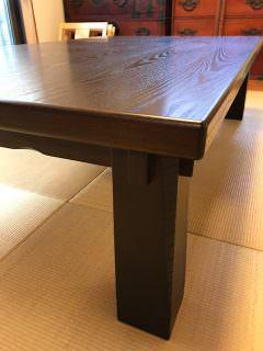 座卓が蘇りました!