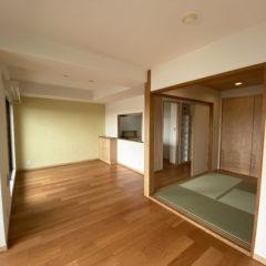 中古マンションをリフォームして住む。〈東京都荒川区N邸〉